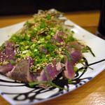 ナカラ - カツオ藁焼き~☆