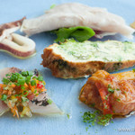 アクアマーレ - 本日の前菜の盛り合わせ