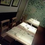 ル・ブション・オガサワラ - テーブルのコーナーもあります