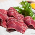 熟成和牛焼肉エイジング・ビーフ - コールドステーキ ユッケスタイル【2013年9月】