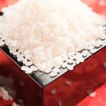 鶏味庵 - ★岩手県暮坪米。もちもち感があり、米の甘みもたっぷり。