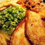 麺匠 佐蔵 - 佐蔵味噌らぅめん