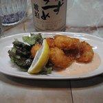 酒菜 杏 - ピリカラえびマヨ