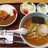篠亭 - 料理写真:カツカレーセット