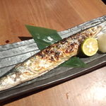 ふく鶴 - 秋刀魚塩焼き