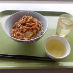 大学生協食堂 - 料理写真:野菜かき揚げ丼 300円
