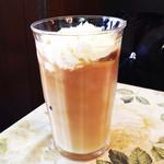 前世喫茶 カフェ ローデストン - アイス・カフェオーレ (500円) '13 9月下旬