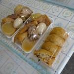旬彩 - 料理写真:おでんは420円、おふくろの味