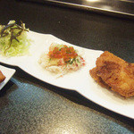華麗なるカレー - おまかせ3品盛(700円)