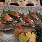 21737355 - 秋刀魚刺し 680円