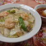 中華料理 津園 - えびご飯 ¥780