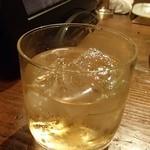 北の味紀行と地酒 北海道 - 梅酒ロック