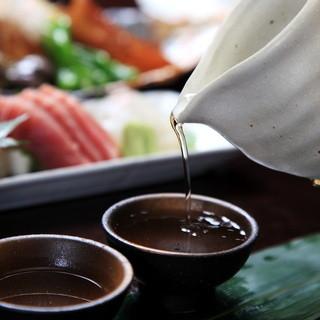 厳選した日本酒・焼酎・ワイン