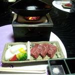 角の坊 - 神戸牛のステーキ