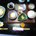 角の坊 - 朝食献立