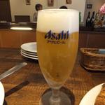 葡萄酒酒場なかなか - グラスビール