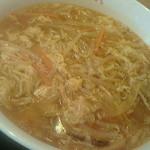 大阪王将 - 酸辣湯麺(平成25年10月)