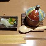 肴 - ランチ\1000 (茶碗蒸し)