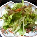 肴 - ランチ\1000(サラダ)