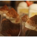 ラルブル - 料理写真:ラルブルのケーキは、甘さ控えめなので老若男女問わずお楽しみいただけます。