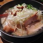 スープ食道 宝 - 黒潮ラーメン【800円】