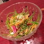 小皿キッチン ココロ - ピーマンとタコのサラダ