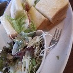 21744095 - 生ハムのサンドイッチ