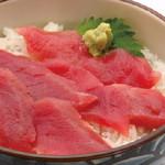 丼丸 - マグロ丼590円