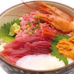 丼丸 - 漁師丼850円