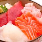 丼丸 - 明石大橋丼590円