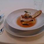 21744387 - 魚料理 メバルの香草焼きブイヤベースソース