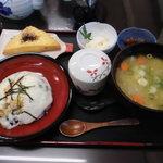 湧水茶屋 なかまち - 郷土料理定食