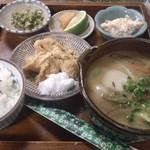 甘味茶屋 - 2013.10 夜・だんご汁定食 1000円