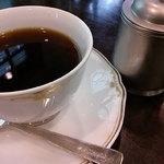 喫茶室 八十六温館 - 名水百選に選ばれた天然湧水で淹れた珈琲は       とても美味しいですっ!