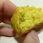 自家製酵母パン WAKU - かぼちゃスコーン 断面