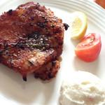 ターニップ - 若鶏香草焼800円