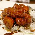 中国酒家 辰春 - 黒酢の酢豚(2013/8月撮影)