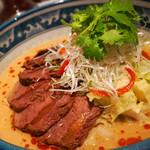 中国酒家 辰春 - 冷やし坦々麺(2013/8月撮影)