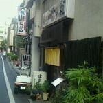 21748785 - お店は、慶応仲通り商店街の道を一本脇に入ったところにあります。