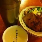 東来 - 錫のチロリと焼豚