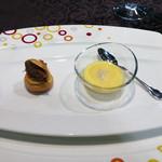 リュクセレ - «フランスレストランウィークメニュー»最初の一皿