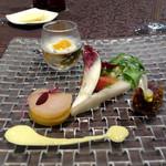 リュクセレ - «フランスレストランウィークメニュー»前菜盛り合わせ