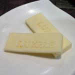 リュクセレ - バターに刻印が!