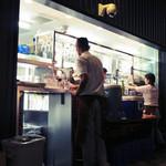 俺のフレンチ・イタリアン 松竹芸能 角座広場 - お会計場所。'13 9月下旬