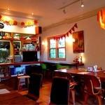 カフェ ソラ - ハロウィン仕様の店内