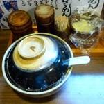 ひさし鍋焼ラーメン - 卓上調味料