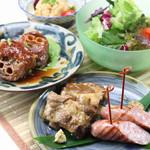 ちゃんぷる - 料理写真:沖縄 豚 トン とん セット