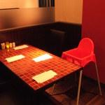 Bistro ハンバーグ - お子様用のお席もご用意♪ご家族でのご来店も大歓迎です(^^♪