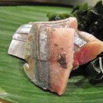 寿し屋の勘八 - 秋刀魚のお造り
