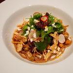 BELDA CAFE - 全粒粉パスタ 鶏胸肉と有機ビーンズのスパイス風味